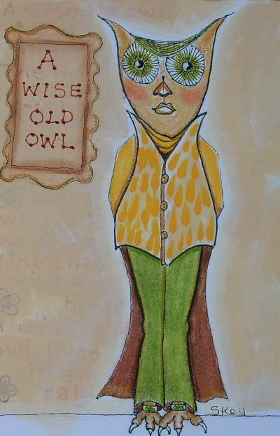 """A Wise Old Owl"""