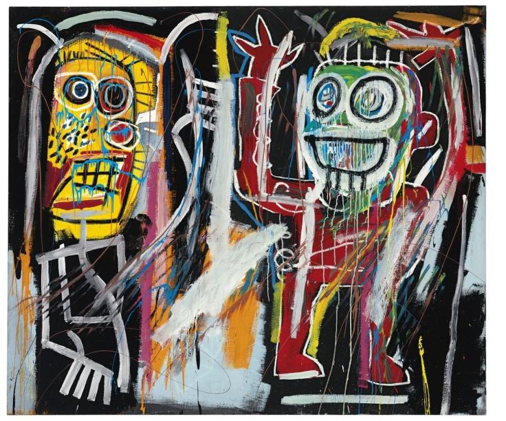 """""""Dustheads"""" Jean-Michel Basquiat"""