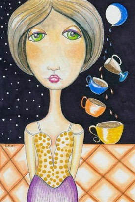 """Four of Cups"" by Sherry Key"
