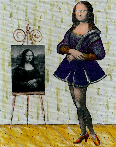Mona the unseen version...till now.