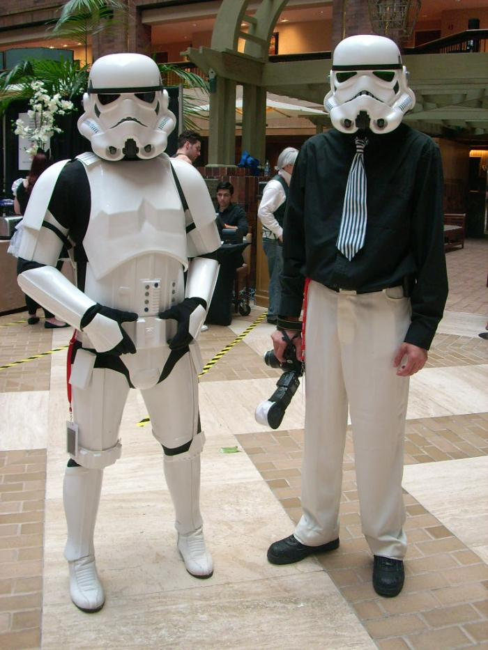 Star Wars Stormship Trooper and Business Stormship Trooper