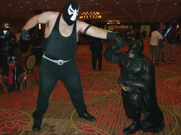 A Batman and a Bane