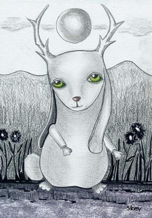 """""""Bunnylope"""" by Sherry Key"""