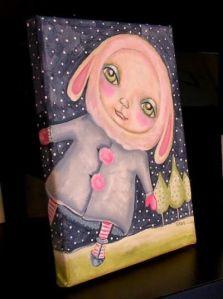 Snow Bunny by Sherry Key