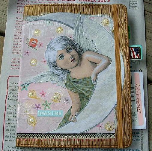 Angel Moon Journal by Sherry Key