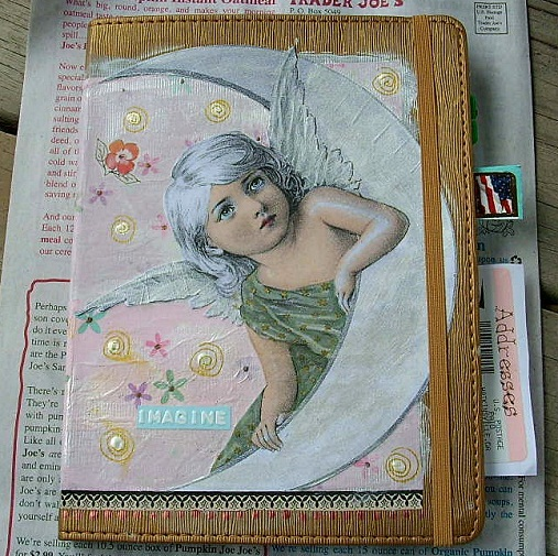 Angel Moon Journal by Sherry Key
