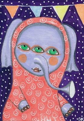 """""""Three Eyes"""" by Sherry Key"""
