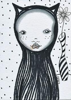 """Goth Girl"" by Sherry Key"
