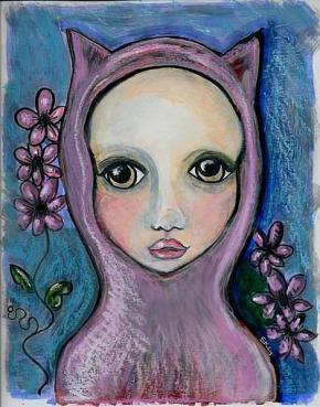 """""""Pinkie Flowers"""" by Sherry Key"""