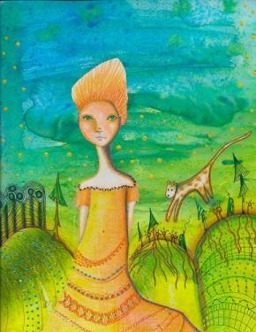 """Summer Days"" by Sherry Key Artist"