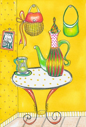Tea Time by Sherry Key
