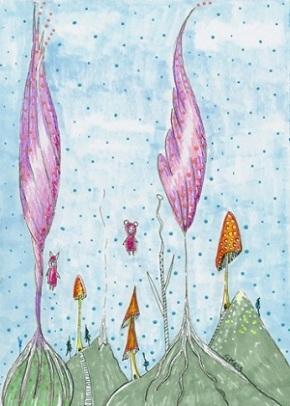 """One Tiny Corner"" by Sherry Key a.k.a. Skey"