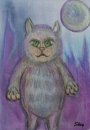"""Art: """"Cats Are From Venus"""""""