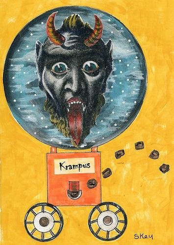 """Art: """"Krampus Coal Machine"""""""
